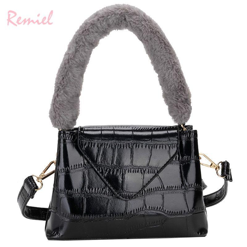 Retro Fashion Lady Tote Bag 2018 New Quality PU Leather Women s ... 69a9b797d5f7c