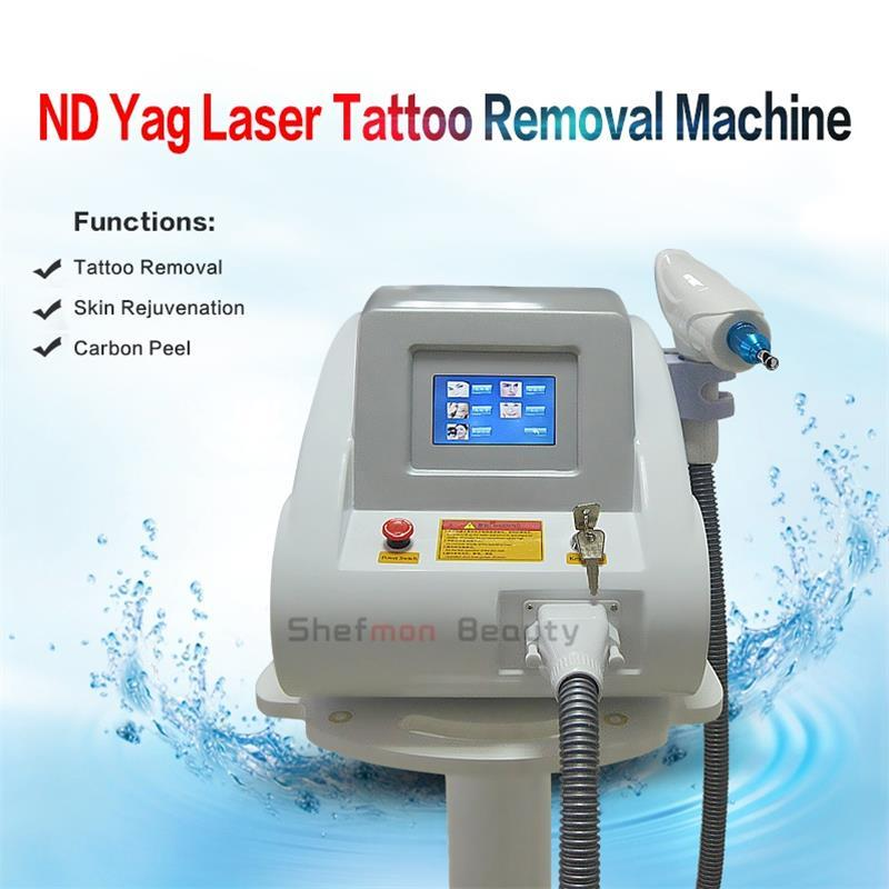 2000MJ Nd Yag Laser Tattoo Removal Black Doll Eyebrow Freckle Remover 1064nm 1320nm 532nm Portable Touch Screen Laser Beauty Equipment