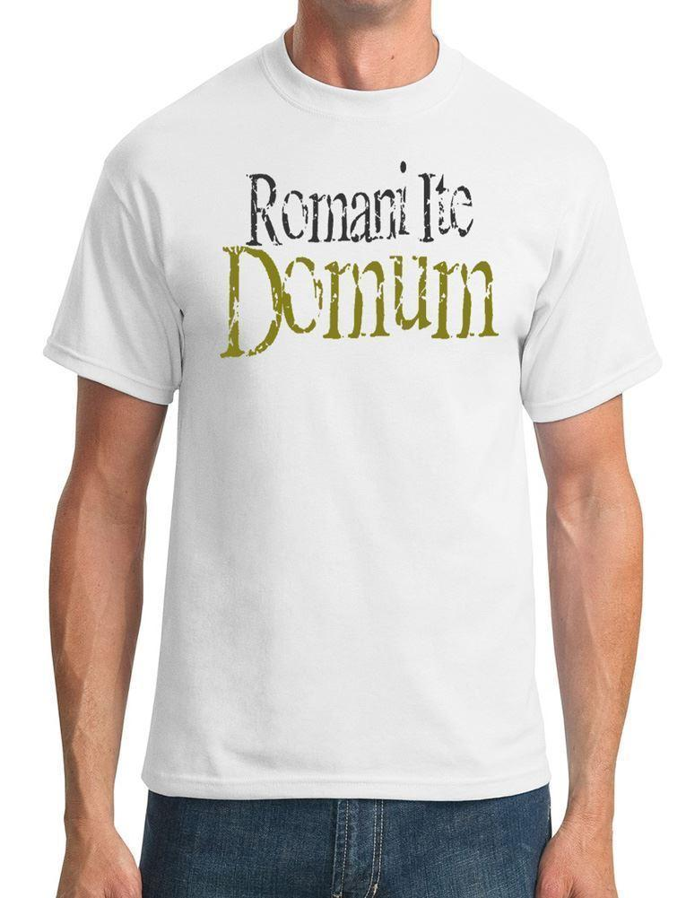 Romani Ite Domum - Funny - Tee shirt Homme