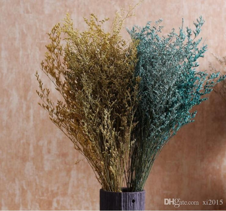 Natural Dried Flowers Home Furnishing Decoration Hay Dried Baby's Breath Valentine Day Gifts Free Shipping WB839