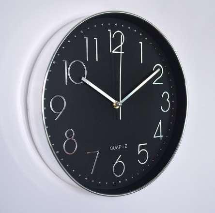 Attrayant Mrosaa 12 Inch Wall Clock Modern Design Digital Pointer Quartz Hanging  Clock Living Room Decorative Horloge Clocks Led Wall Clocks Lighted Wall  Clock From ...