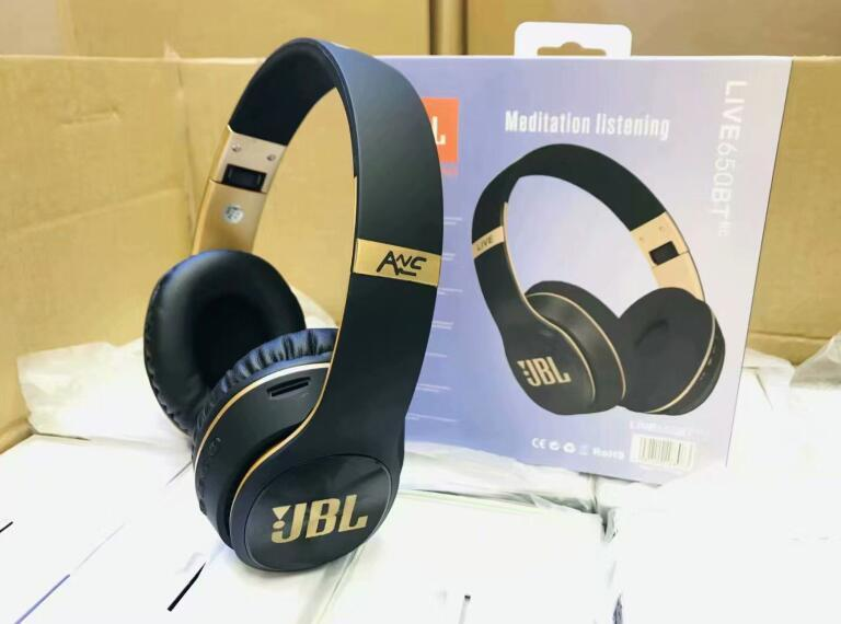 HOT JBL Top Quality Wireless Bluetooth Headset Perfect Melody Bass Wireless Headphones Free Retail Box Delivery Professional studio earplugs