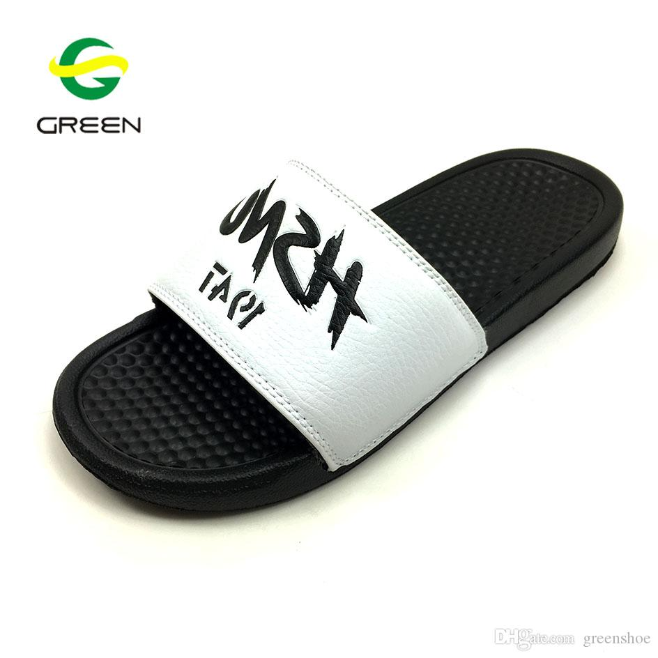 d2aba4b1923f Greenshoe Custom Men Slides Footwear