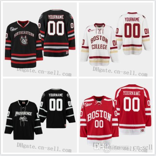 the best attitude a6074 c410d Custom Any Name Number 2019 Boston University Terriers Providence Friars  Boston College Eagles Northeastern Huskies Tournament Hockey Jersey
