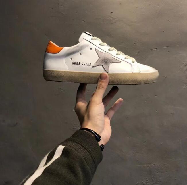 788ffe7ea7 formal loafers shoes for men Golden Goose GgdbGenuin Leather Villous Dermis  dress italian shoes sneakers Luxury Superstar trainer 35-45