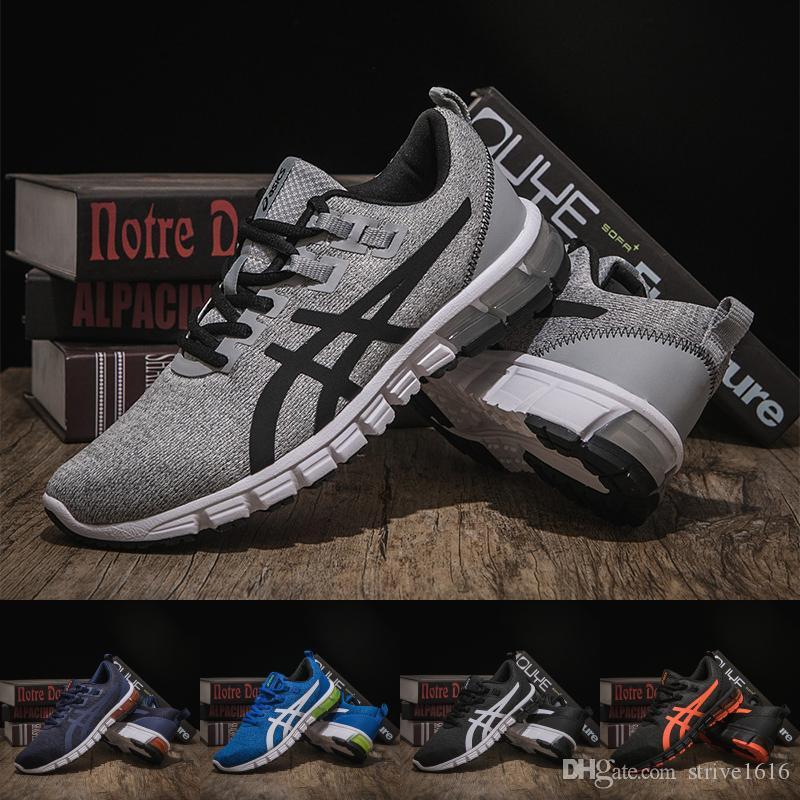 87163299073 2019 New Arrivals Asics Gel Quantum 90 Buffer Running Shoes Men Women Grey  Black Sport Sneaker Designer Shoes Size 36 45 From Strive1616, $55.84 |  DHgate.