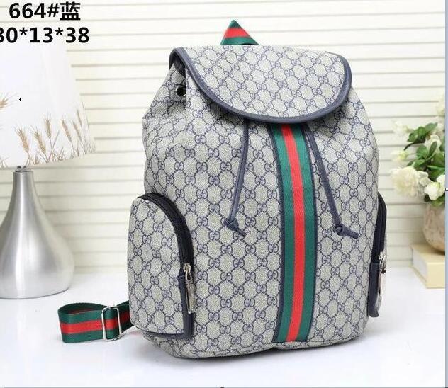 0d1cdec5ab0 2019 GUCCI Men'S Women'Sleather Shoulder Bag Men'S Large Capacity Backpack  Travel Bag Fashion Leisure Schoolbag A1111 Camo Backpack Batman Backpack  From ...
