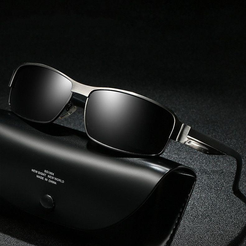 6116f38c76 Aluminum Sunglasses Men Polarized 2018 Luxury Brand Designer Sun Glasses  For Male Lunette Soleil Homme Zonnebril Mannen Sunglasses Shop Bolle  Sunglasses ...