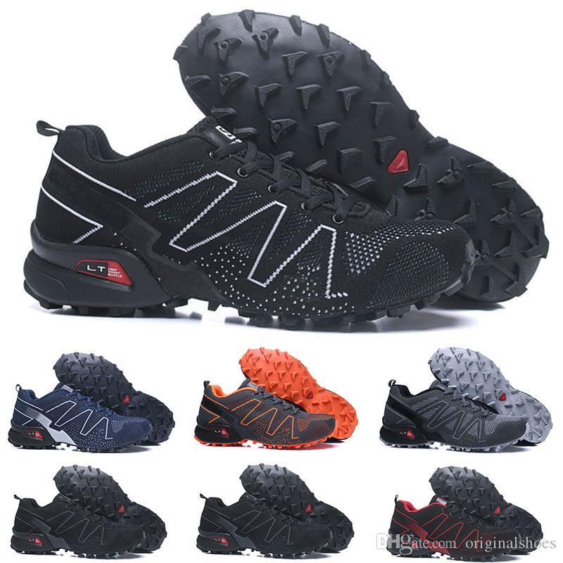 bas prix f4a7e c1c67 Speedcross Pro 2 CS Trail Running Shoes Designer 2019 Mens Women Purple  Pink Speed Cross Outdoor Hiking Athletic Sports sneakers 36-46