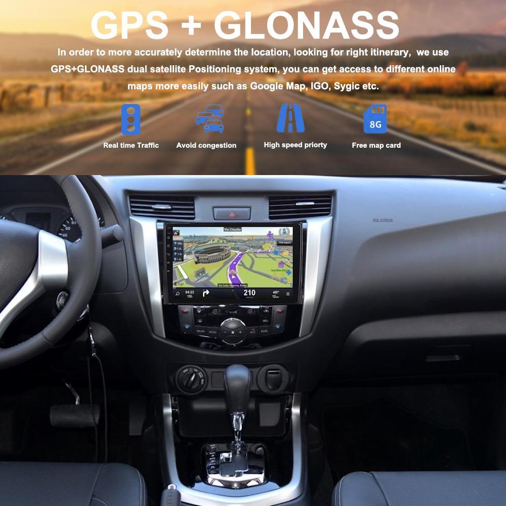 Dasaita 10 2 Octa Core Android 8 0 Car Multimedia for Nissan NP300 Navara  Radio 2015 2016 2017 Vehicle Gps Autoradio RDS Mirror