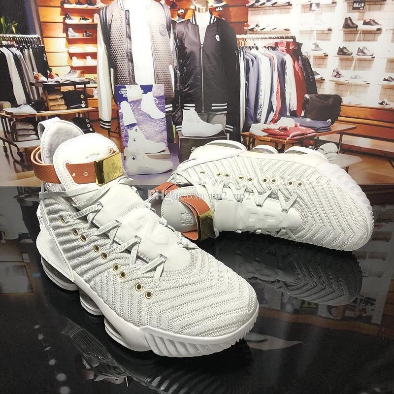 278a2957714 2019 New Style Lebron XVI 16 Harlem S Fashion Row Basketball Shoes ...