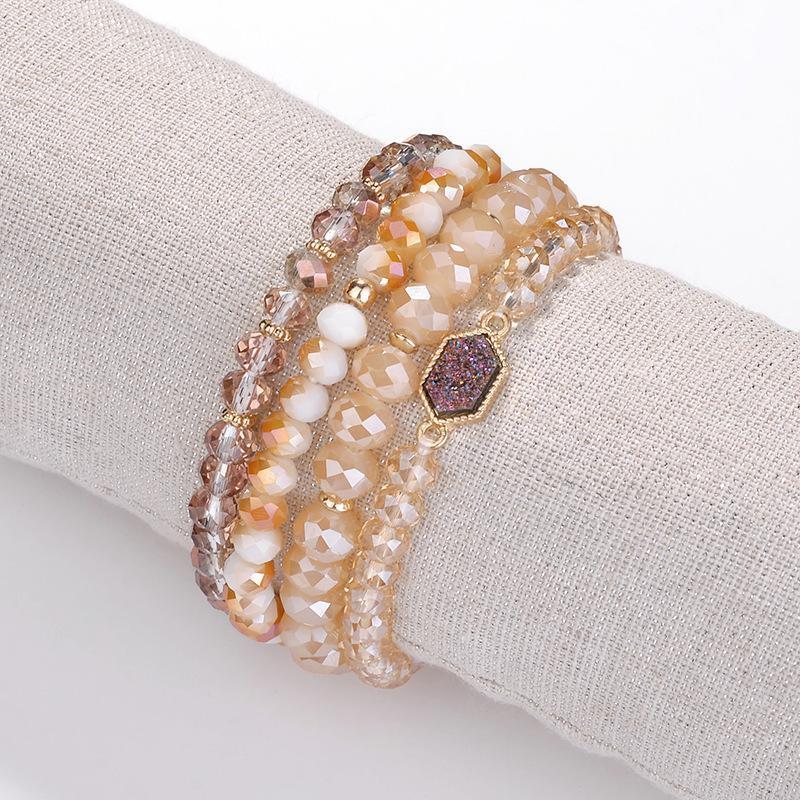 33f7e39dc3 Womens Beads Bracelet - Fashion Boho Charm Bead Bracelets Jewelry ...