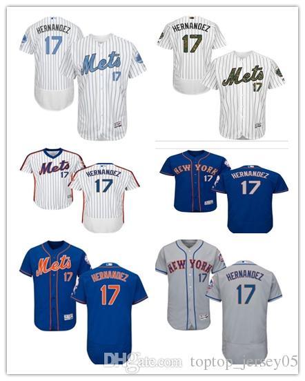 purchase cheap 8969c fdc79 2018 New York Mets Jerseys #17 Keith Hernandez Jerseys men#WOMEN#YOUTH#Men  s Baseball Jersey Majestic Stitched Professional sportswear