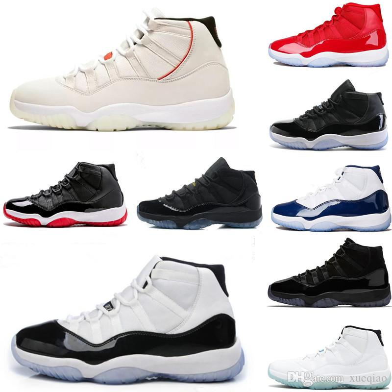 7b823061744 Concord 45 XI 11s Cap And Gown Gym Red Platinum Tint Space Jams Mens Basketball  Shoes 11 Womens Sports Shoes Sneakers Size 7 13 Walking Shoes Shoes  Sneakers ...
