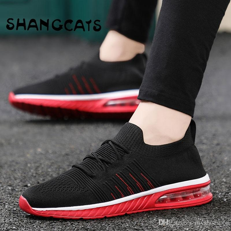 96ea7f9e051 Trend 2018 Thin Socks Shoes Without Lace Casual Shoes Men Loafers Sneakers  Tenis Masculino For Fat Feet Tenis Feminino  268380 Cute Shoes Mens Shoes  Online ...
