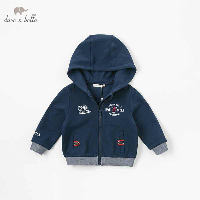 989f4521f Dave Bella Autumn Baby Boys Lovely Jacket Children Fashion Outerwear ...