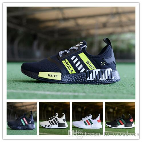 bef5a9b33 Kids Designer Shoes Boys Girls NMD R1 Baby Kids Toddler Shoes White ...