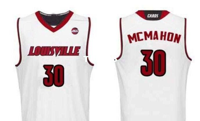best sneakers 45cf5 1ff65 Men Louisville Cardinals Ryan McMahon #30 College Real embroidery jersey  Size S-4XL or custom any name or number jersey