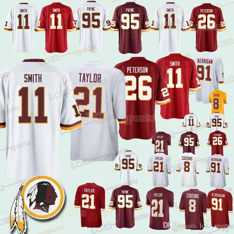f061b98b491 Washington 33 Redskins Jerseys 91 Ryan Kerrigan 21 Sean Taylor 11 ...