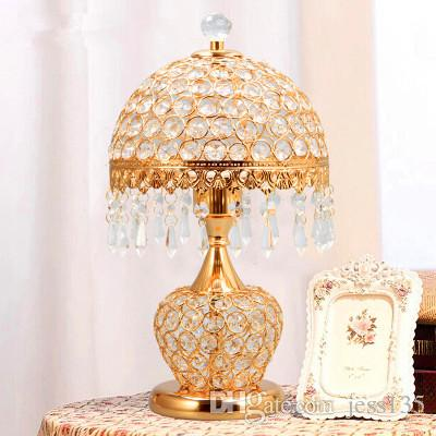 Modern crystal led table lamp led lamps High-power led lighting bedroom E27 bulb desk lamps reading and wedding best gifts Z3