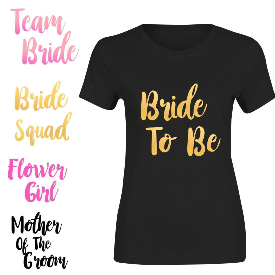 ccc0ee924 Chief Bridesmaid Bride Tribe Iron On T Shirt Transfer Auntie Hen Do Party  Crew Men Women Unisex Fashion Tshirt Tshirt And Shirt Shirts Cool From ...