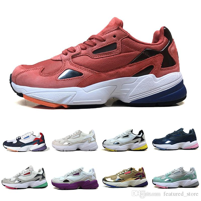 298c23d135bee2 Acquista ADIDAS Falcon W Running Shoes For Women Men High Quality Falcon  Shoes New Designer Sneakers Originals Jogging Outdoors Size 36 45 A $81.22  Dal ...