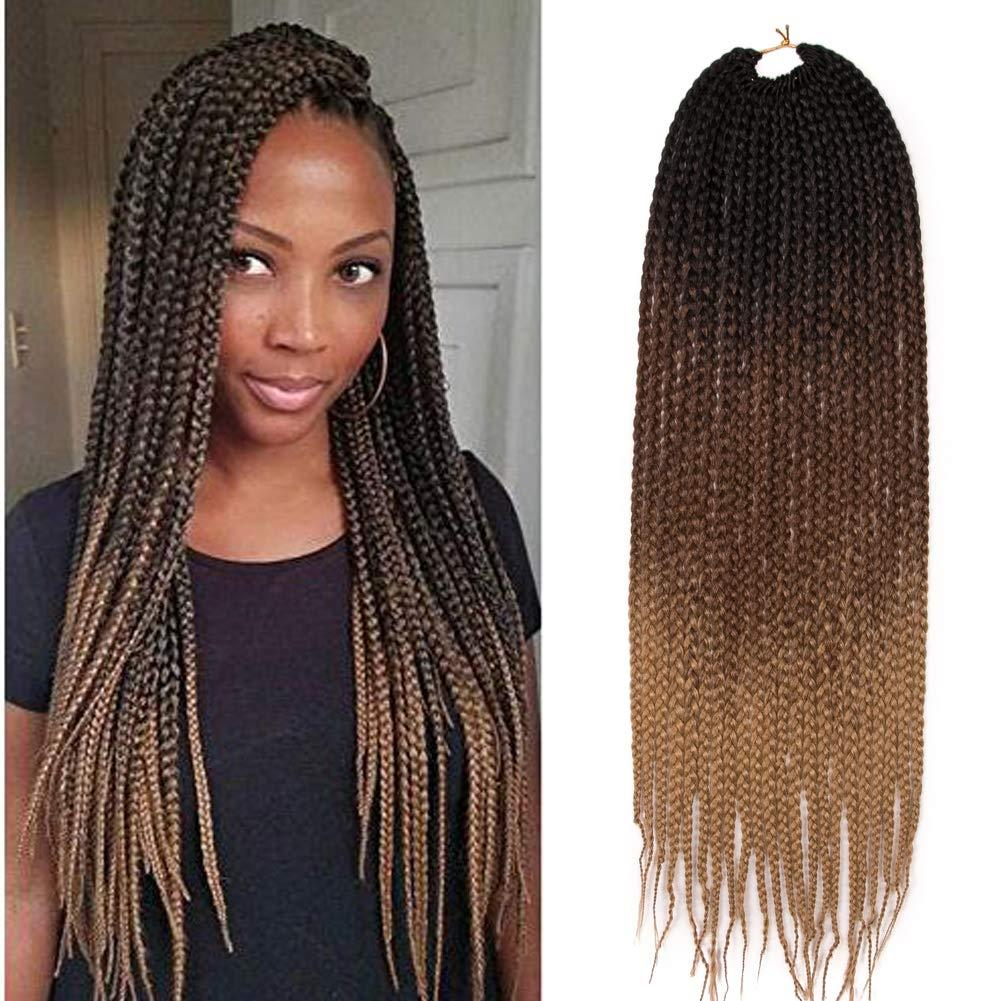 Women Heat Resistant Fiber Ombre Jambo Braids Girl Hair Extension African 24inch Synthetic Braiding Hair Lady Gradient Dreadlock Hair Braids