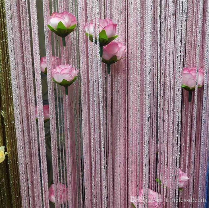 Wedding Decorations Flower Artificial Silk Rose Flower Head Home Party Handwork DIY Bud Decor Simulation Flower Fake Flowers Heads