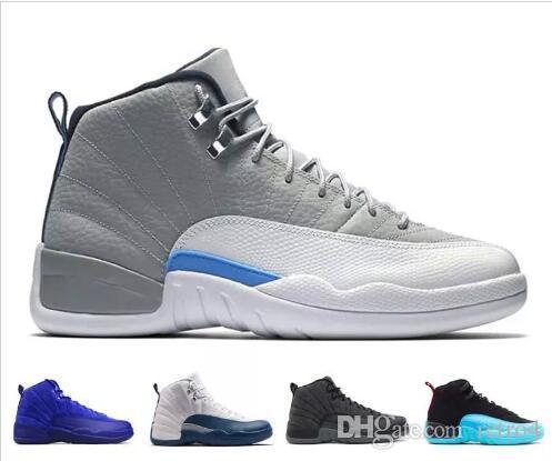 d07f2d207fa 2019 Basketball Shoes 13 XIII Wolf Grey Hyper Royal Black Cat ...