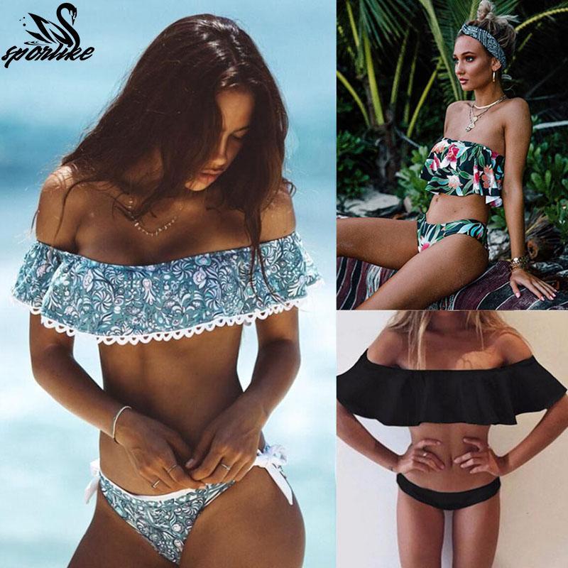 42b4e6e99c05f 2019 2019 Sexy Bandeau Bikinis Women Swimsuit Push Up Swimwear Brazilian  Bikini Set Beach Bathing Suit Swim Wear Biquini From Hlq1027, $26.72    DHgate.Com