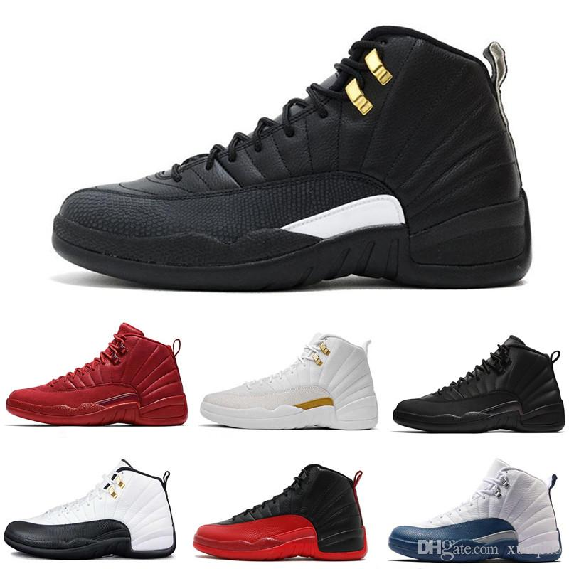 726ce6997ad7 12s Mens Basketball Shoes 12 Friday Gym Red Pack Bulls Flu Game Taxi French  Blue Men Women Sports Designer Shoes Sneaker Size 7 13 Shoe Shops Cheap ...