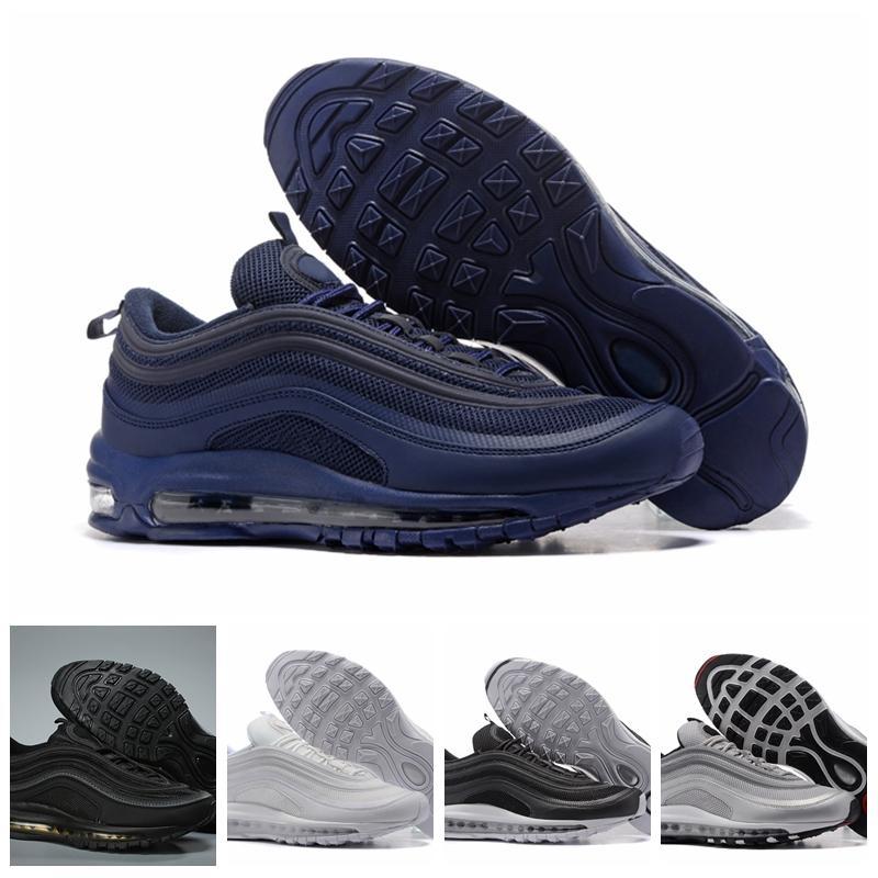 Nike Air Max Original AirMax barato Hombres Mujeres Deportes al aire libre zapatos 97 OG NRG 97S SE Plus QS PRM Diseñador de lujo oficial zapatillas