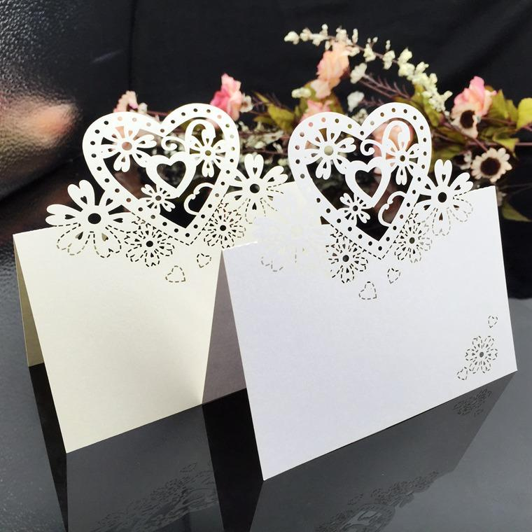 Strange Laser Cut Place Cards Hearts Flowers Paper Carving Name Card For Party Table Decorations Seating Place Cards Weddings Download Free Architecture Designs Scobabritishbridgeorg