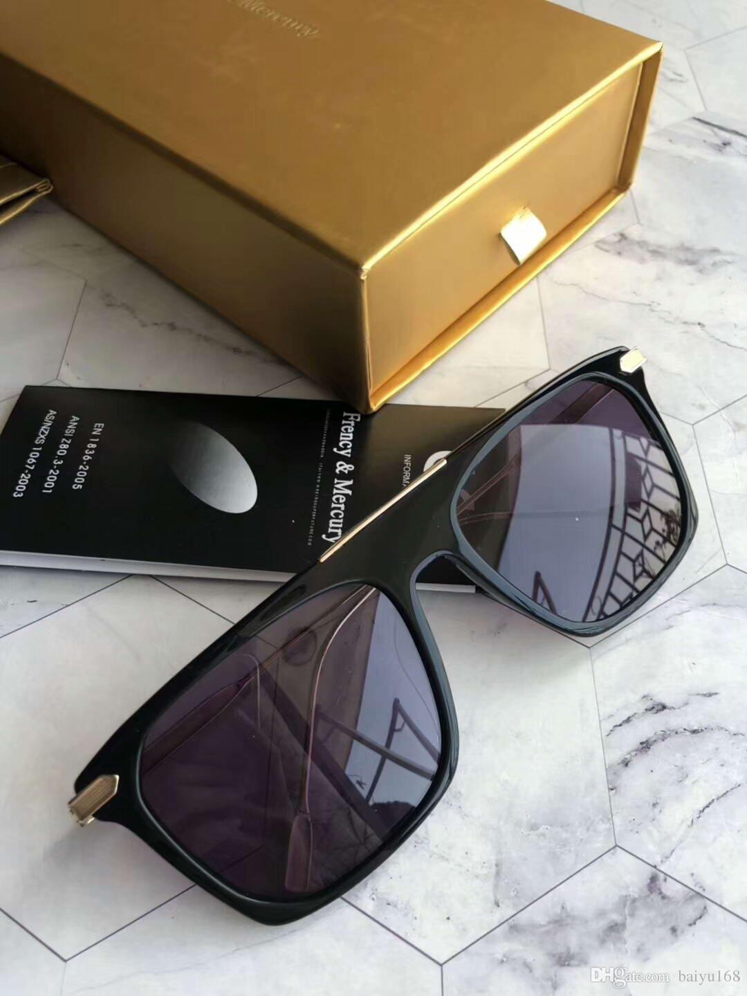 06ea8d1277b3 French Mercury Gold Black Grey Shaded Sunglasses Flighting Fashion Designer  Sun Glasses Glasses Shades New With Box Reading Glasses Prescription  Sunglasses ...