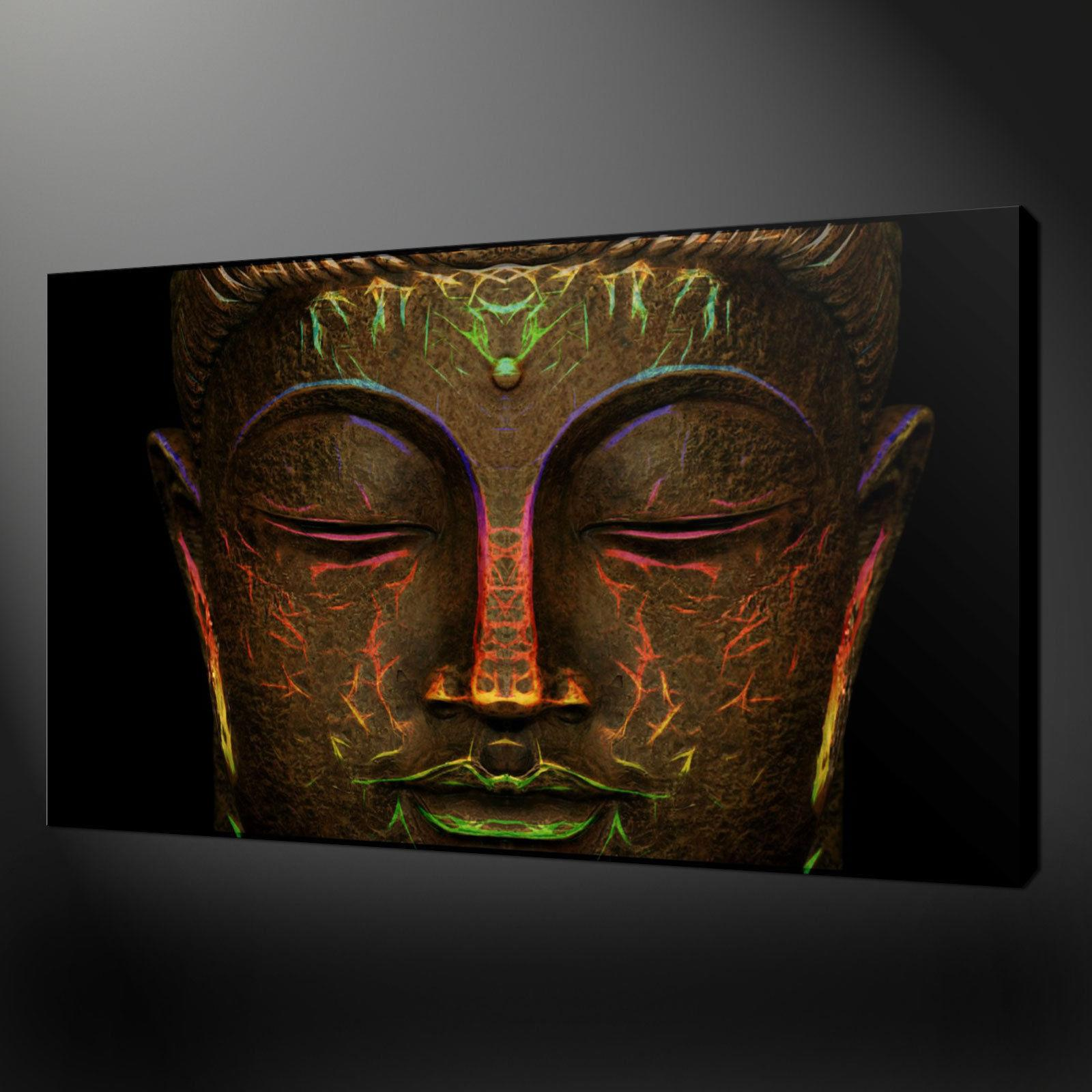 2019 bronze buddha hd canvas printing new home decoration art