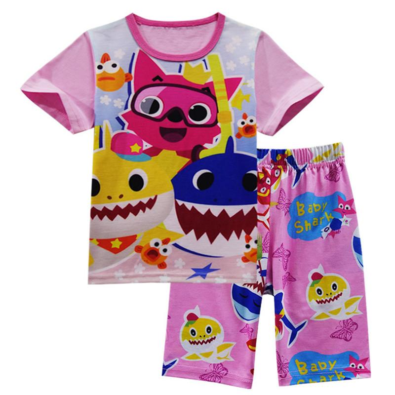 Mini kurzärmelige T-Shirt 2pcs/Set Puppe Kleidung kurze Jeans Hose,