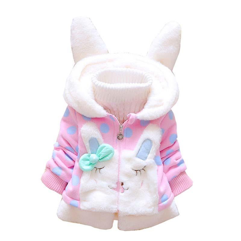 ba02f961bd6c Good Quality Baby Girls Jacket Autumn Winter Coat For Girls Snowsuit ...