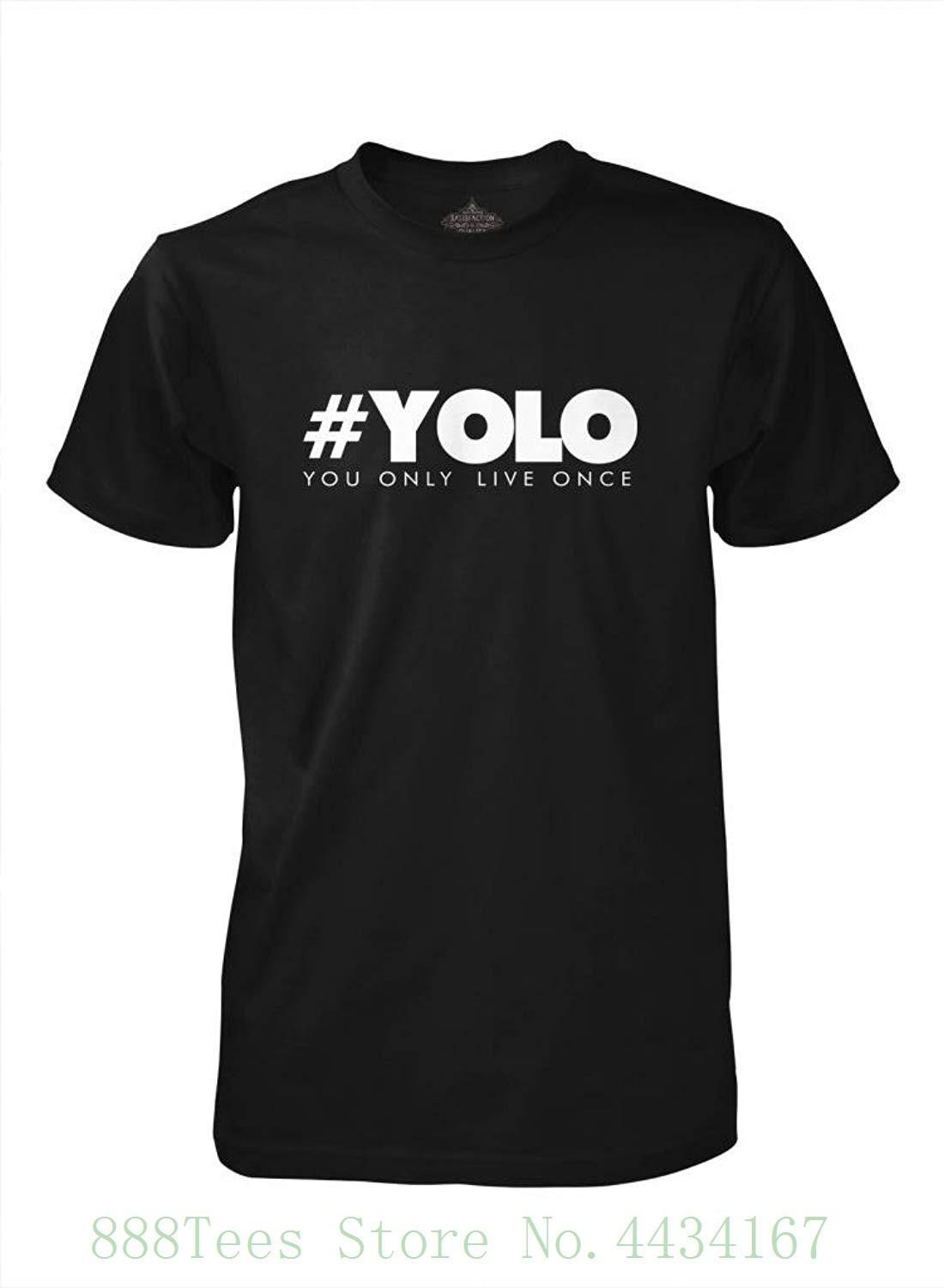 14a399817a  yolo You Only Live Once T Shirt Printed Summer Style Tees Male Harajuku  Top Fitness Brand Clothing Cool Tee Shirt Designs Buy Cool T Shirts Online  From ...