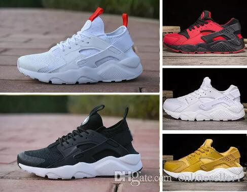 479f7c78fb6d Stylish Huarache 4.0 IV 1.0 Running Shoes Sneakers Luxury Leather ...