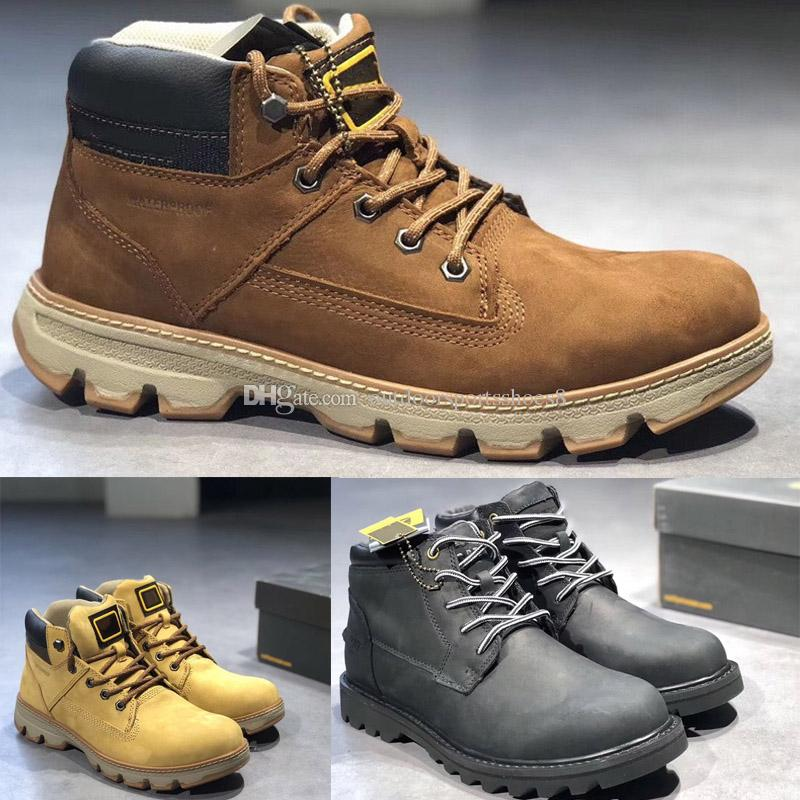 Men's Mountaineering Shoes Designer Sports Running Shoes man Trainers Waterproof boots outdoor shoes Retro men's bulldozer boots