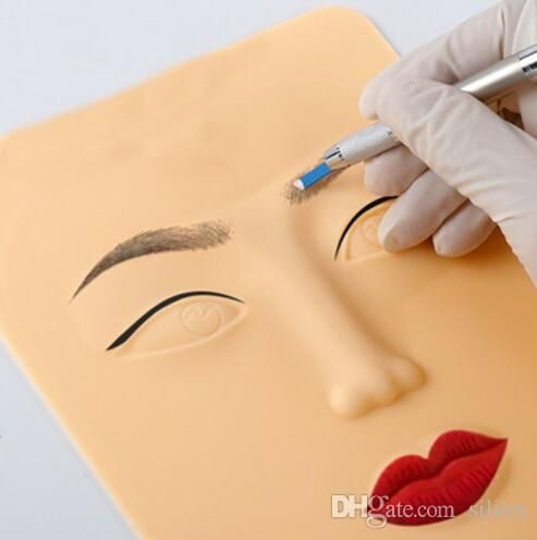beb1bb609 3D Silicone Face Tattoo Practice Skin High Quality Tattoo Design Fake Skins  For Beginners Permanent Makeup Practice Permenant Makeup Semi Perm Eyebrows  From ...