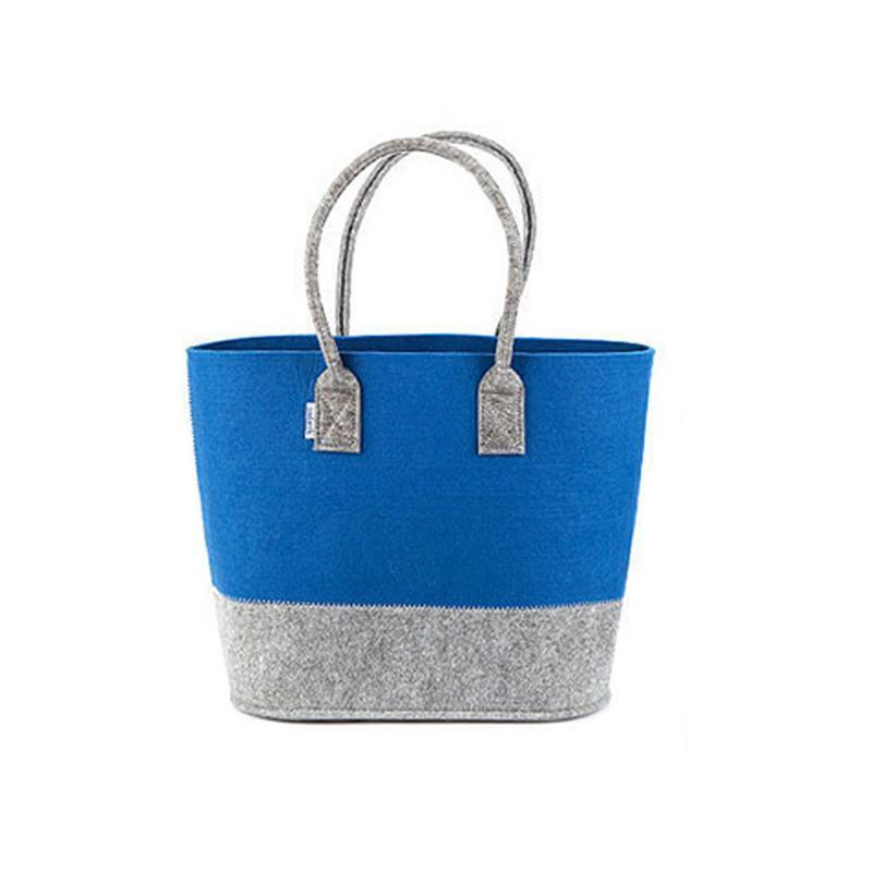 d582526d8ef7b Großhandel Hochwertige Filz Sammeln Korb Shopper Einkaufstasche Supermarkt  Umwelt Einkaufen Handtaschen Totes Modische Einkaufstasche Von Packbest04