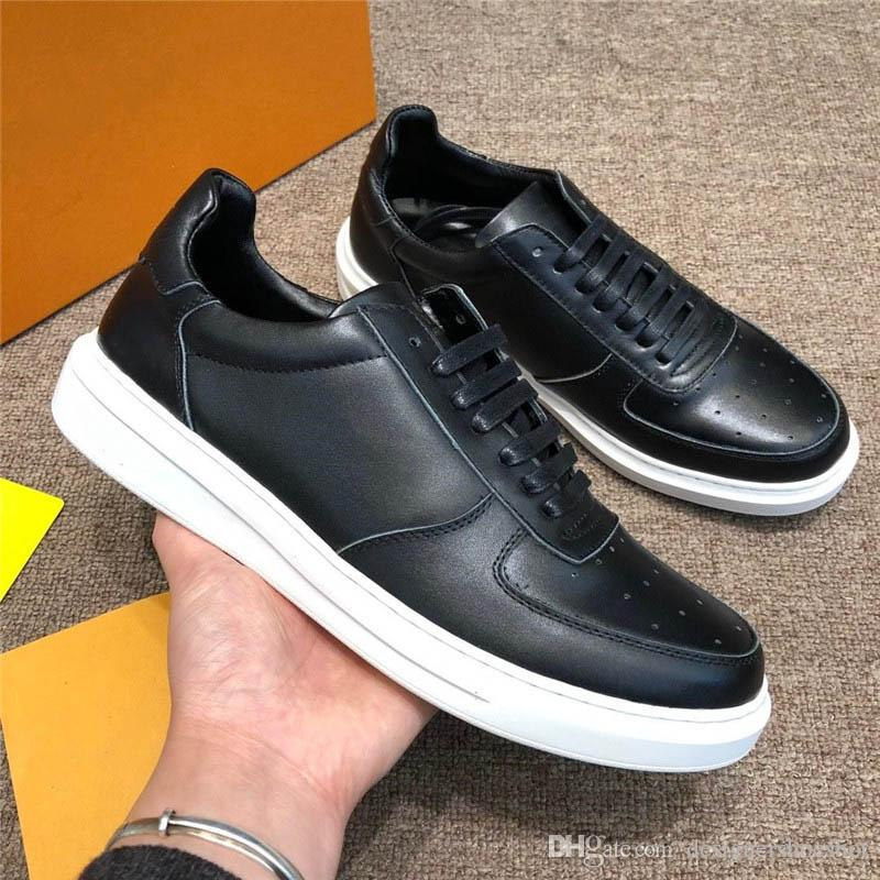 cc5e998450 Popular Top Quality Beverly Hills Sneaker Fashion Luxury Leather Men  Designer Shoes Summer Breathable Lightweight Classic Trendy Flats Shoes  Cool Shoes Naot ...