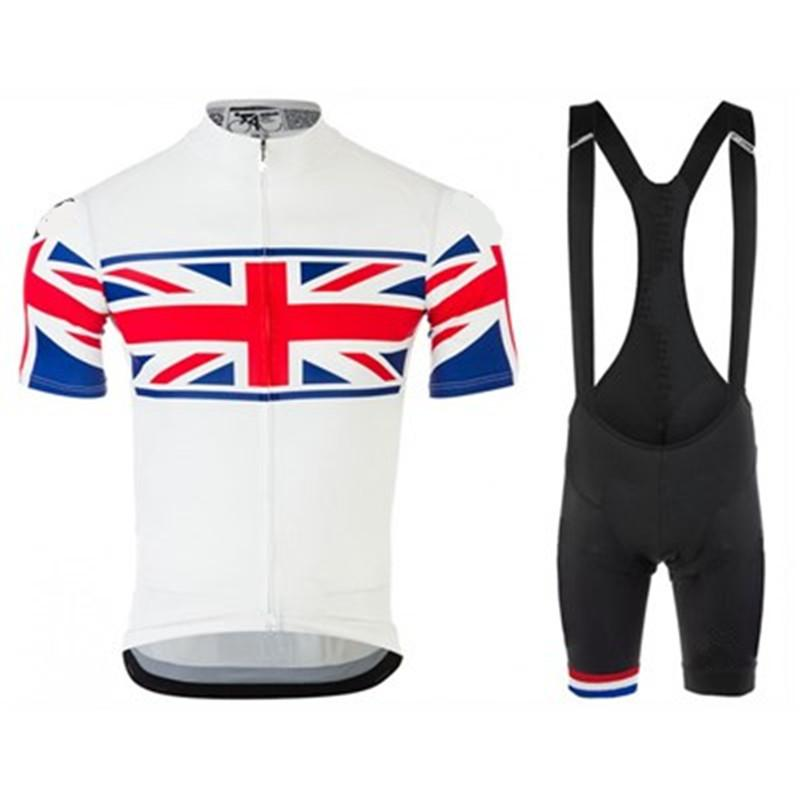 b09841022 UK England Team Men Cycling Jersey Summer Short Sleeves Set MTB Bike  Bicycle Riding Outdoor Suit Bib Kits Clothes Clothing Mtb Jerseys Cycling  Short From ...