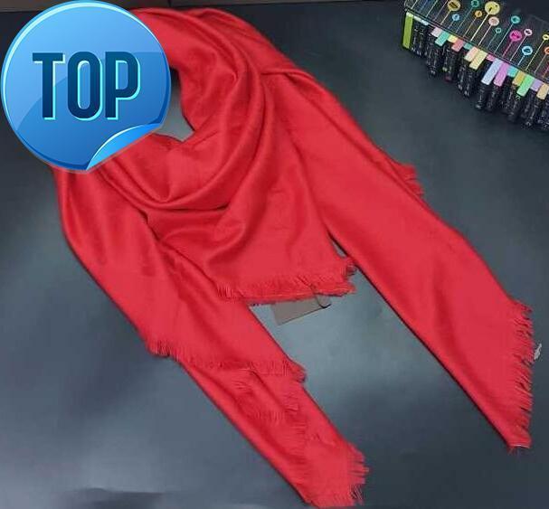 4a9c5a360afe Compre Nueva Bufanda Famosa Marca Bufandas Envuelve Mantones De Lana De Seda  Diseño Cuadrado 140   140 Moda Pashmina es A  11.06 Del Dongshengsm