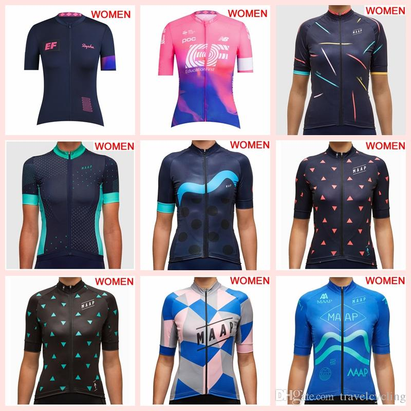 925b76ce8b6 New Summer MAAP Cycling Clothing Women Short Sleeve Cycling Jersey Mtb  Bicycle Shirts Breathable Quick Dry Road Bike Tops Sportswear Y030503  Custom Cycling ...