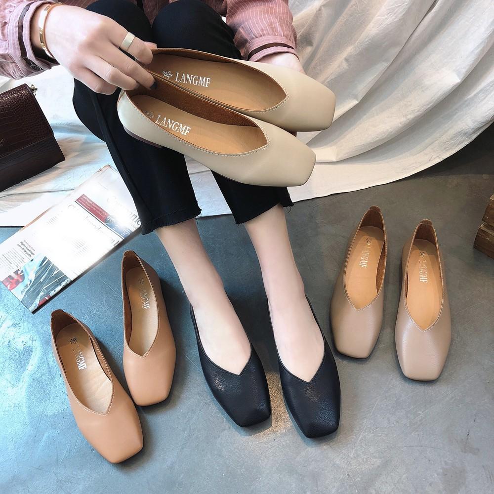 Chaussures En Été Air Bout Dérapantes 2019 Sandales Occasionnelles Talons Plat Anti Carré Plein Bas Mode Automne Antidérapantes À Femmes drCeWBxo