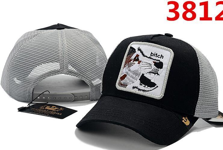 c231b996e49a2 2019 High Quality Mesh Baseball Cap Mens Womens Fashion Designer ...