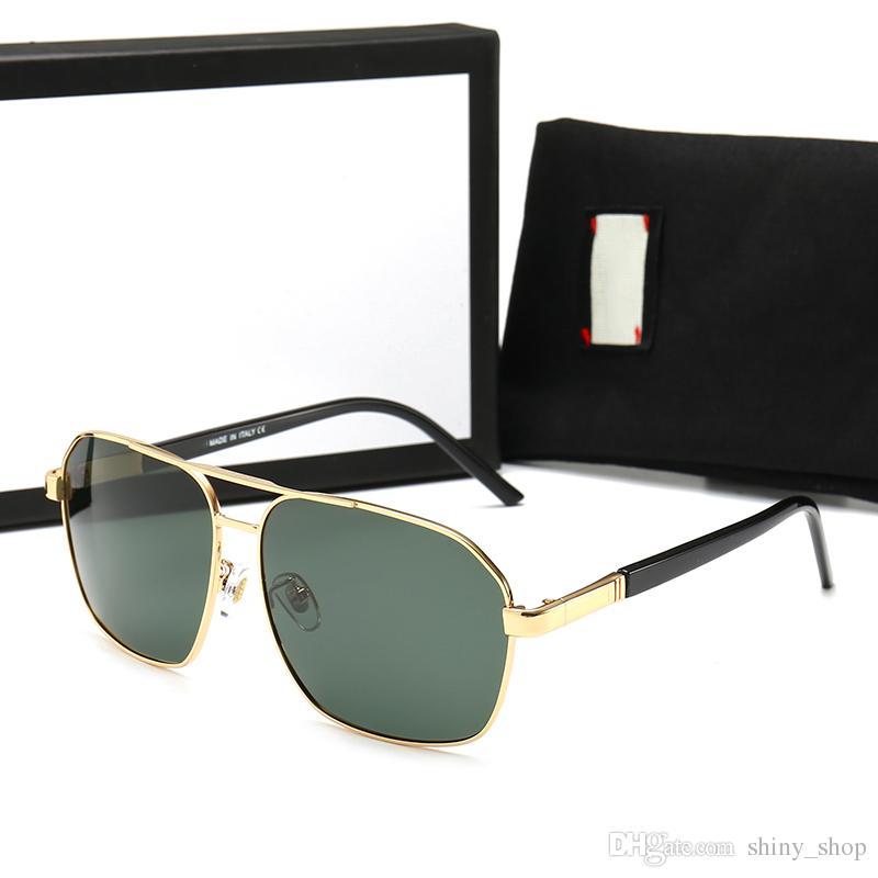 acdf22e435 Compre Gucci GG98020 2019 Gafas De Sol De Imitación De Moda Para Mujeres  Hombres Auti UV Semi Sin Montura Gafas De Sol Gafas De Sol De Medio Marco  Gafas De ...
