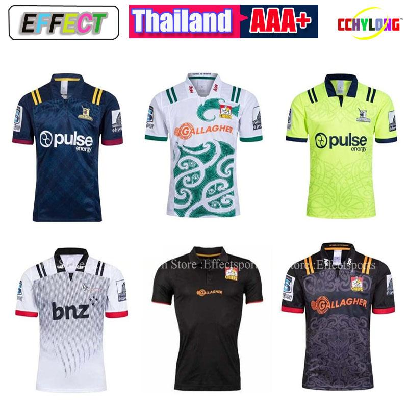 332fc25599e 2019 2018 Chiefs Super Rugby Jersey New Zealand Super Chiefs Blues  Hurricanes Crusaders Highlanders Shirts SIZE: S 3XL From Effectsports,  $17.67 | DHgate.